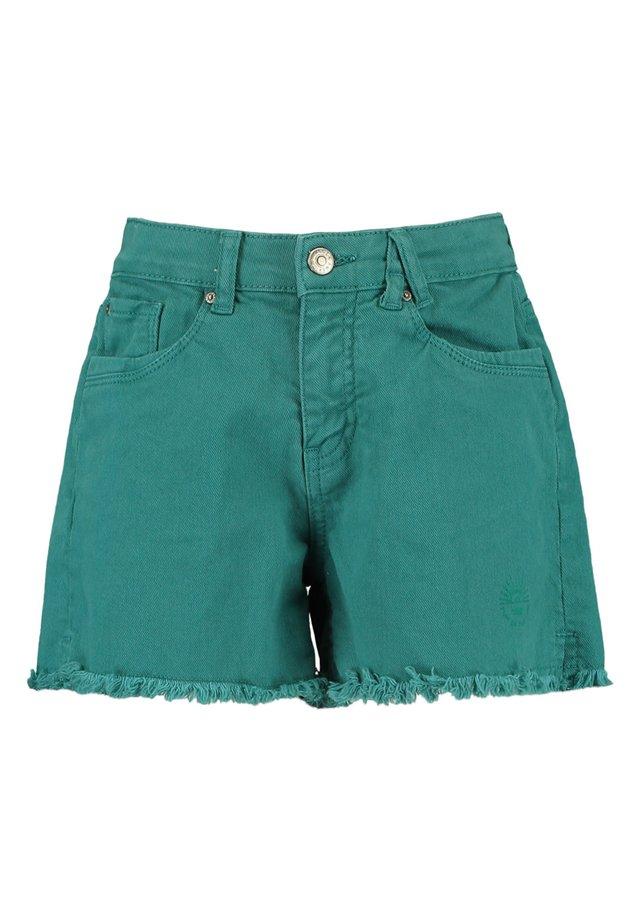 Jeansshort - sea green