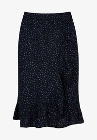 America Today - ROCK ROMEE JR - A-line skirt - washed black - 0
