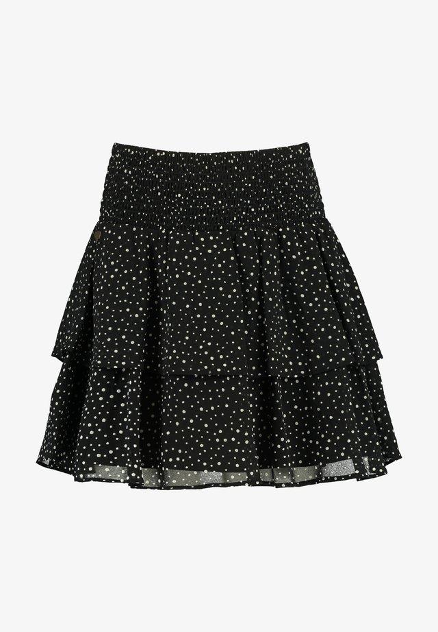 A-lijn rok - washed black