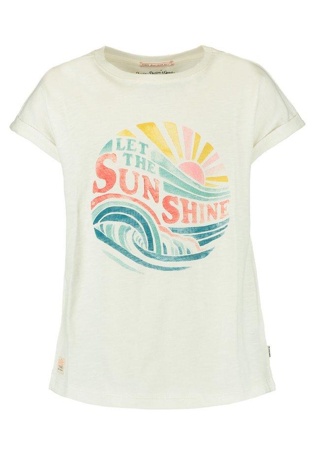 EDA JR - Print T-shirt - off white
