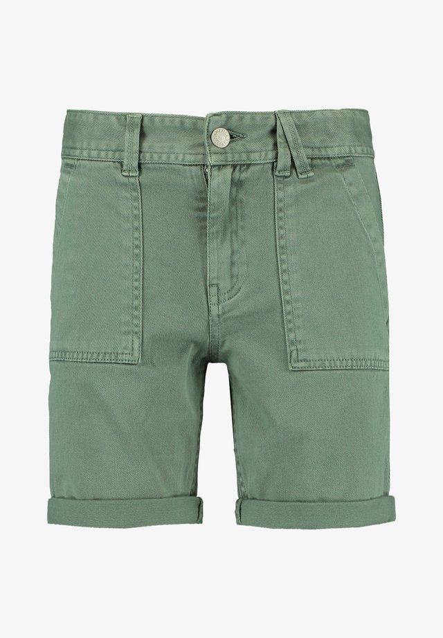 NEVIN JR. - Jeansshort - medium green