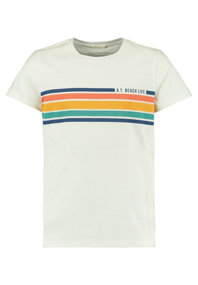 EMERSON JR. - Print T-shirt - off white