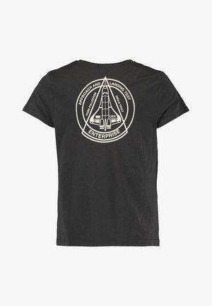 ELOY JR - T-shirt print - washed black