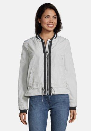 MIT REISSVERSCHLUSS - Summer jacket - beige