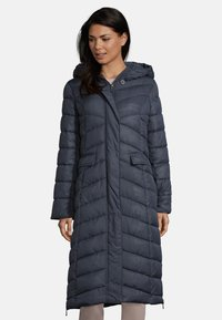 Amber & June - Winter coat - dark blue - 0