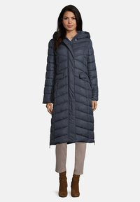 Amber & June - Winter coat - dark blue - 1