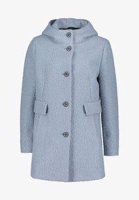 Amber & June - MIT KAPUZE - Short coat - dusty blue - 3