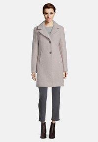 Amber & June - Short coat - grey - 1