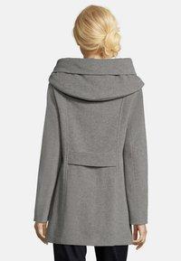 Amber & June - MIT KAPUZE - Short coat - grey melange - 2