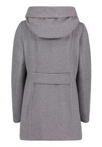 Amber & June - MIT KAPUZE - Short coat - grey melange - 4