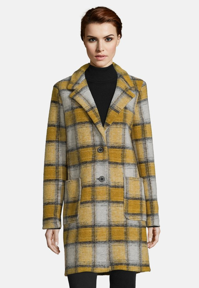 Short coat - yellow-silver
