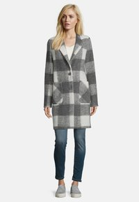Amber & June - MIT REVERSKRAGEN - Classic coat - grey - 1