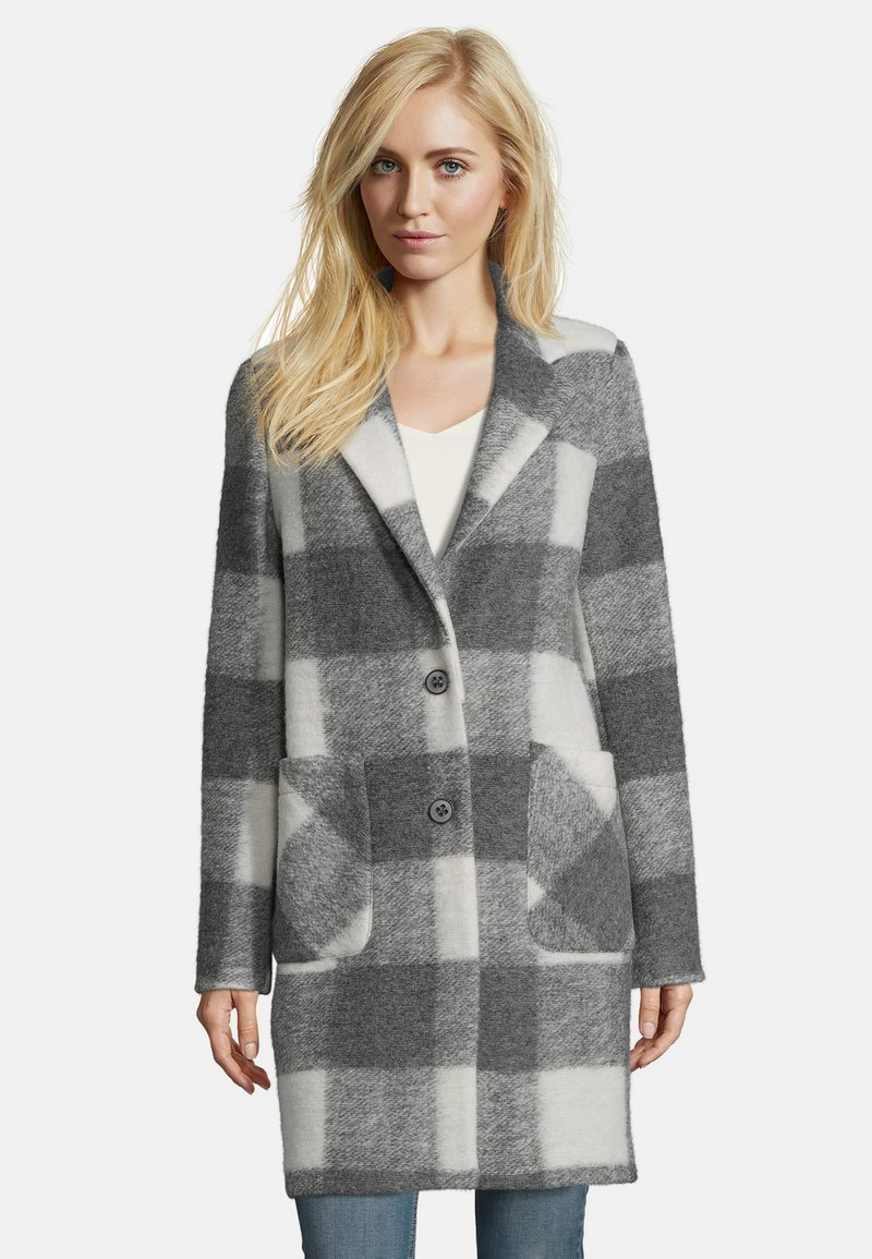 Amber & June - MIT REVERSKRAGEN - Classic coat - grey
