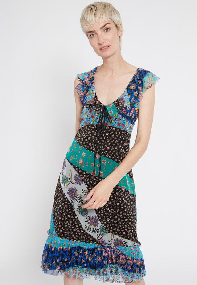 SHYRANE - Korte jurk - multi-coloured