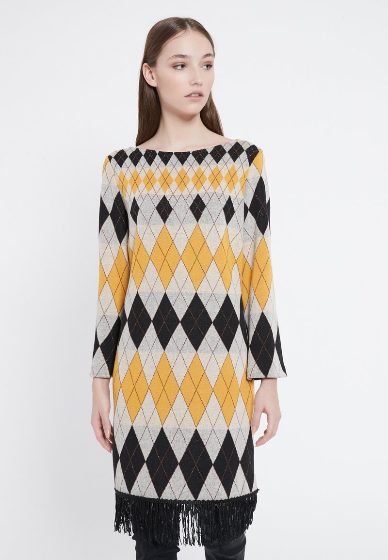 Ana Alcazar - Jumper dress - yellow