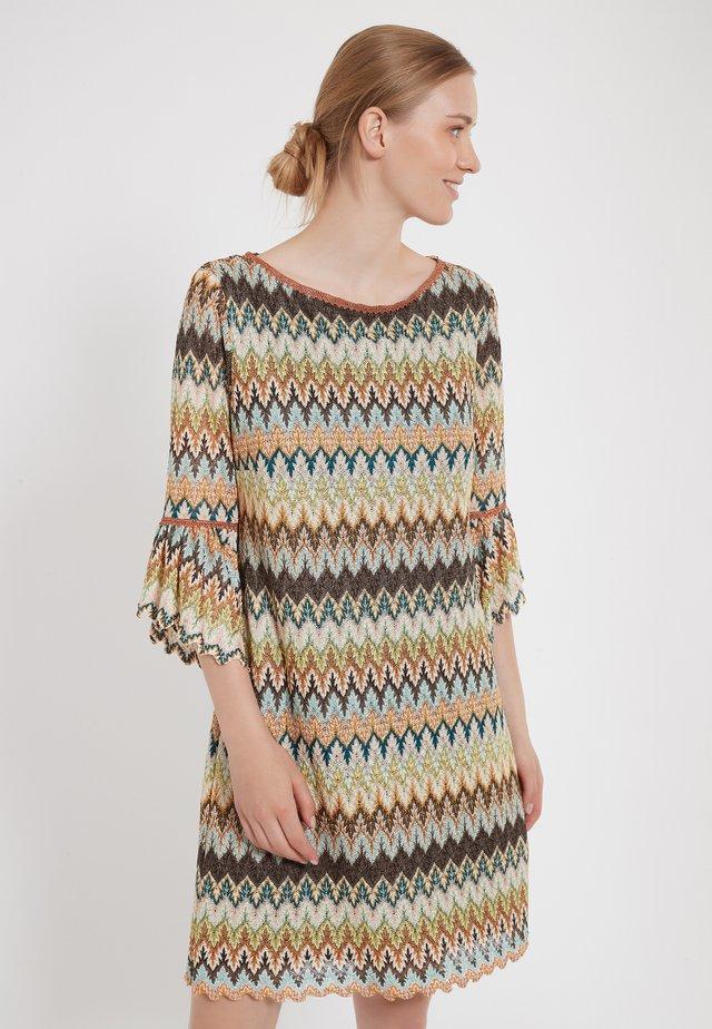 ZAGY - Gebreide jurk - multi-coloured