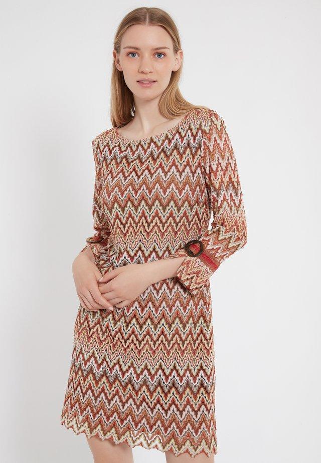 ZALY - Jumper dress - multi-coloured