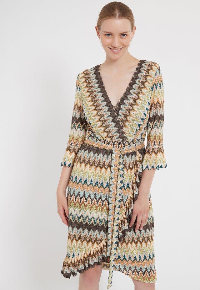 ZAGEA - Gebreide jurk - multi-coloured
