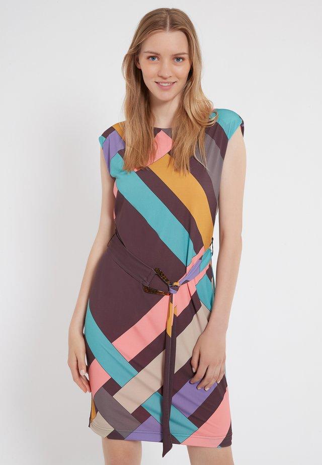 ZIMA - Jersey dress - multi-coloured