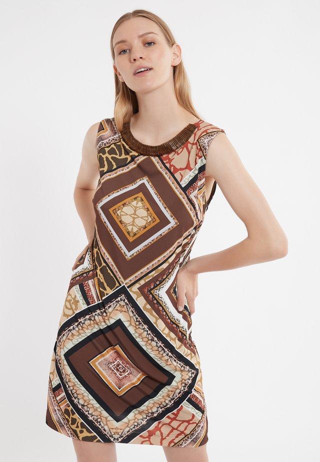 ZINAI - Jerseyjurk - brown