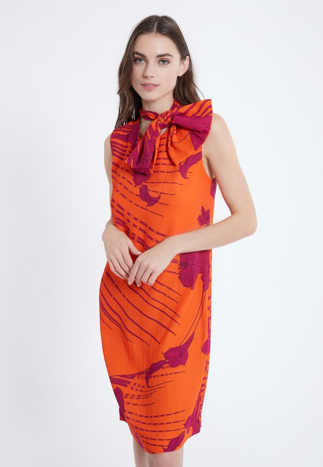 ZADO - Freizeitkleid - orange