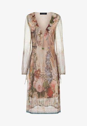 ZIDEA - Robe d'été - beige