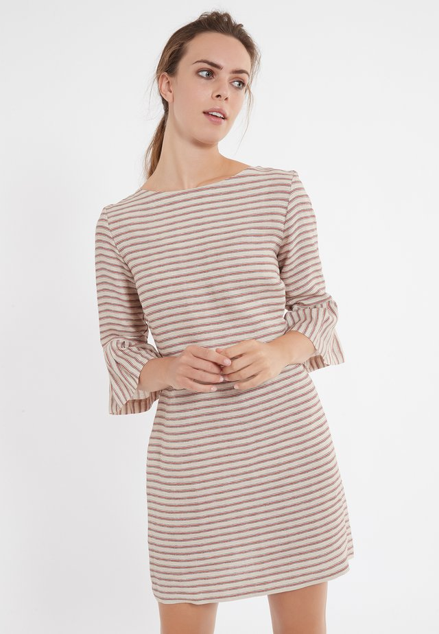 ZEMES - Korte jurk - brown