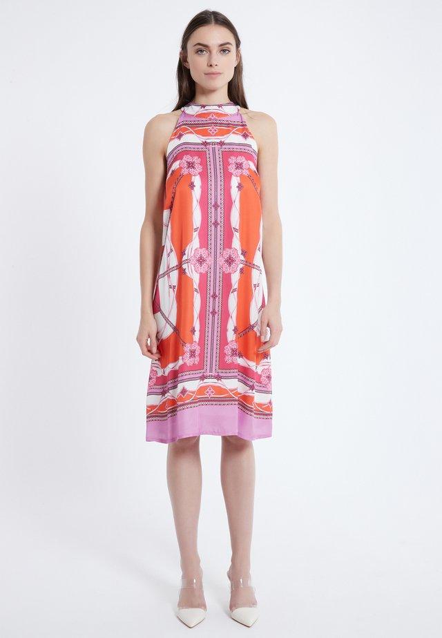 NECKHOLDER KLEID ANASI - Day dress - bunt