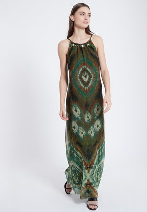 ASKYR - Maxi dress - oliv