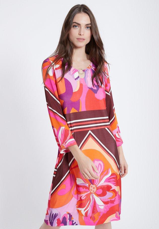 AUBRA - Jersey dress - multi-coloured