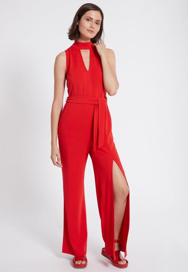 SAWRIS - Jumpsuit - red