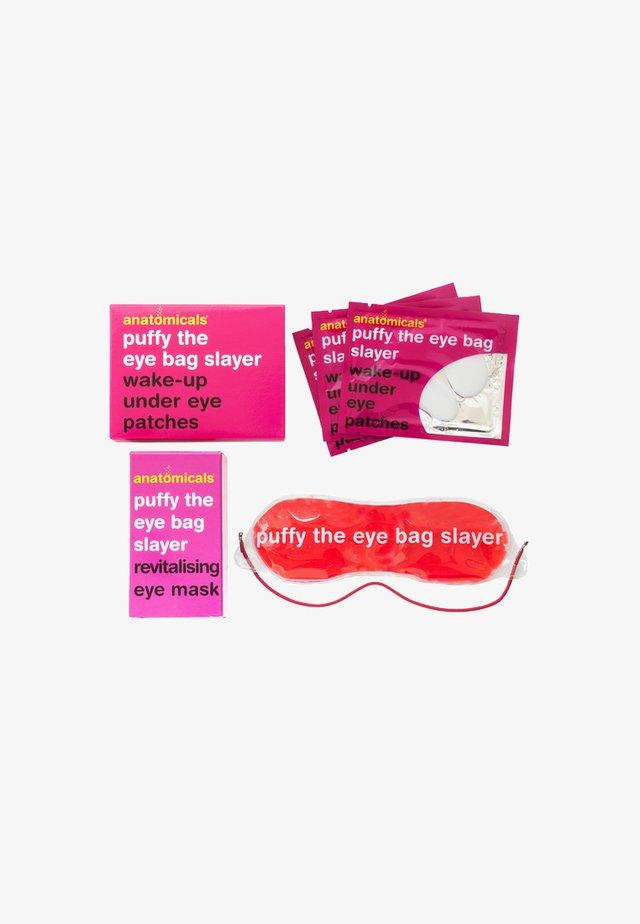 PUFFY THE EYE BAG SLAYER EYE PATCHES & MASK - Skincare set - Neutral