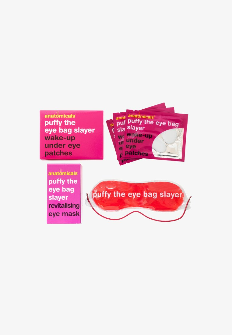 Anatomicals - PUFFY THE EYE BAG SLAYER EYE PATCHES & MASK - Huidverzorgingsset - Neutral