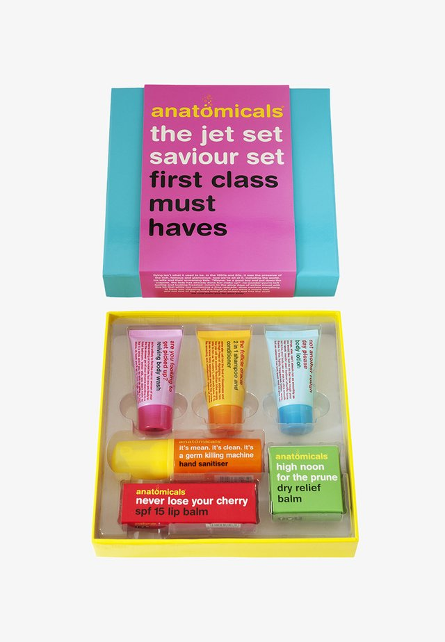 THE JET SET SAVIOUR SET - Huidverzorgingsset - neutral