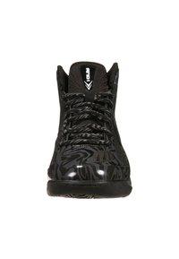 AND1 - XCELERATE MID - Chaussures de basket - black/asphalt black - 2