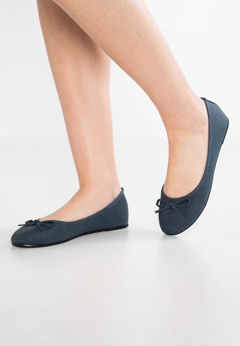 Anna Field - Ballet pumps - navy