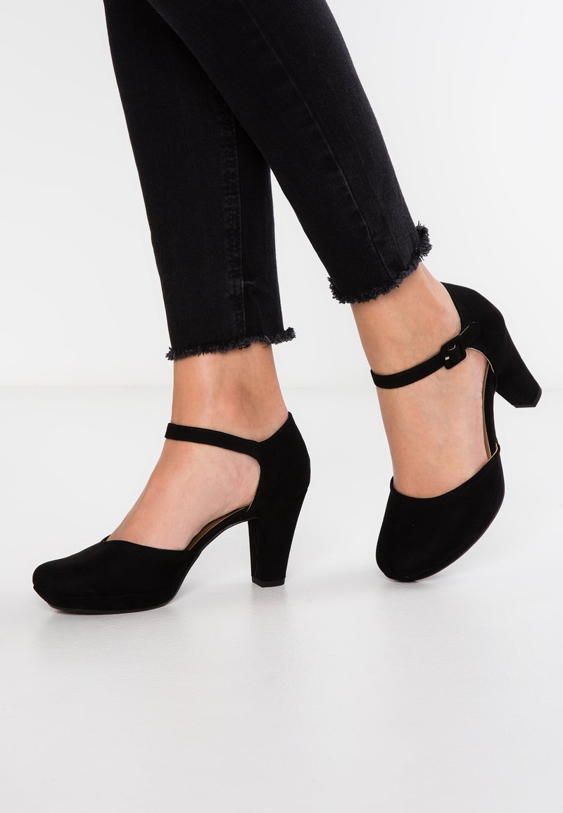 Anna Field - Platåpumps - black