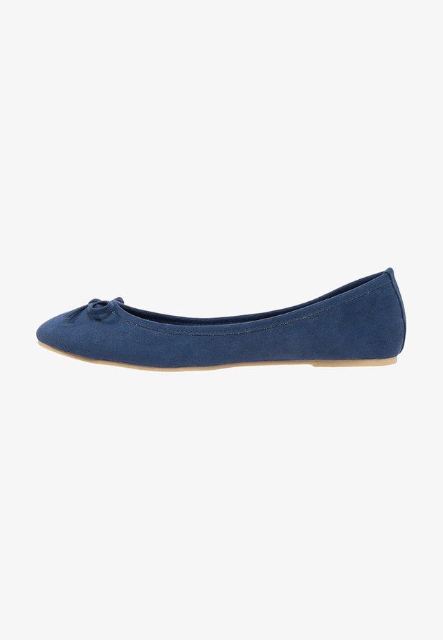 Ballet pumps - dark blue