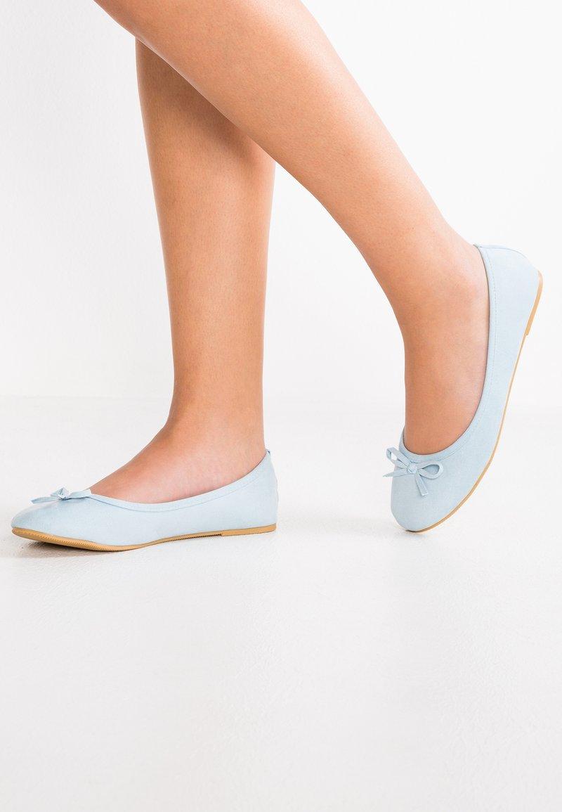 Anna Field - Klassischer  Ballerina - light blue