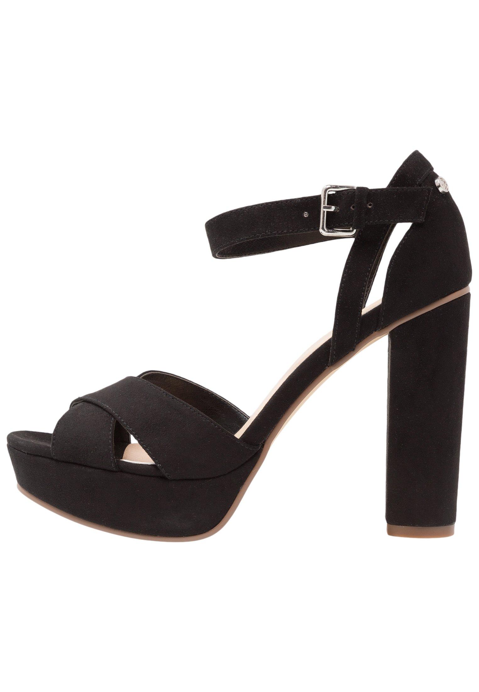 High Heel Sandalette black