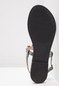 Anna Field - T-bar sandals - dark gray - 5