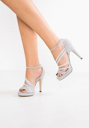 Sandali con tacco - grey