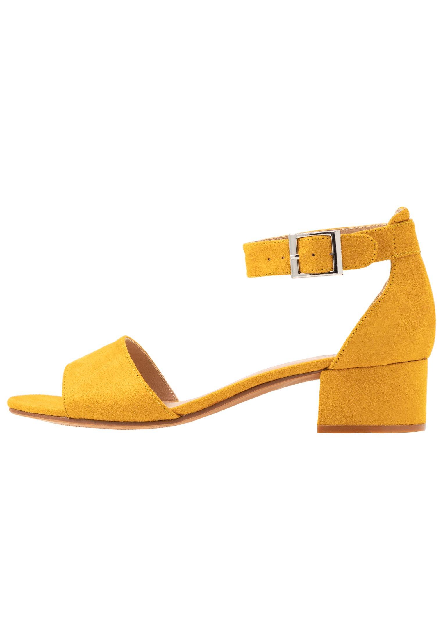 Anna Field Sandaler - Yellow