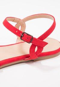 Anna Field - Sandals - red - 6
