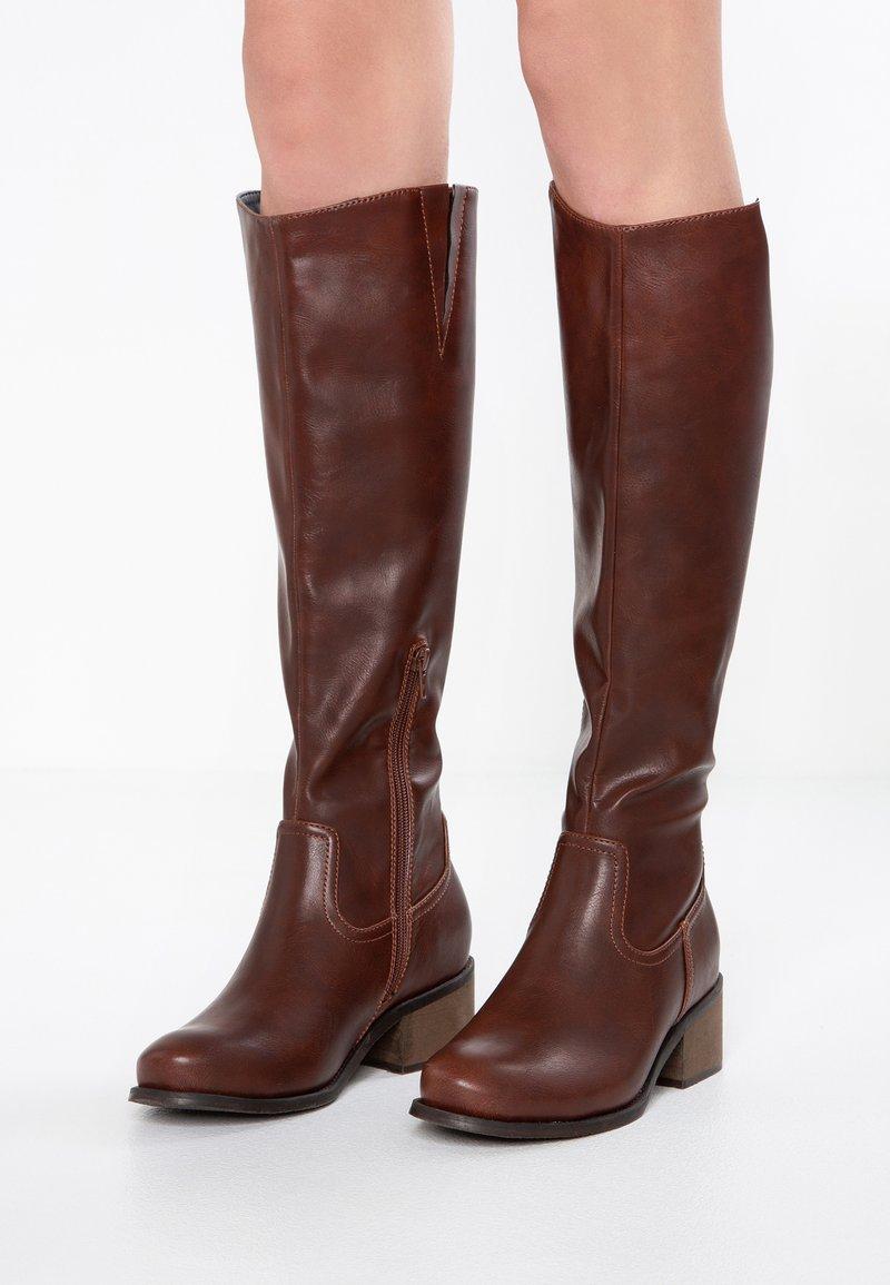 Anna Field - Høje støvler/ Støvler - dark brown