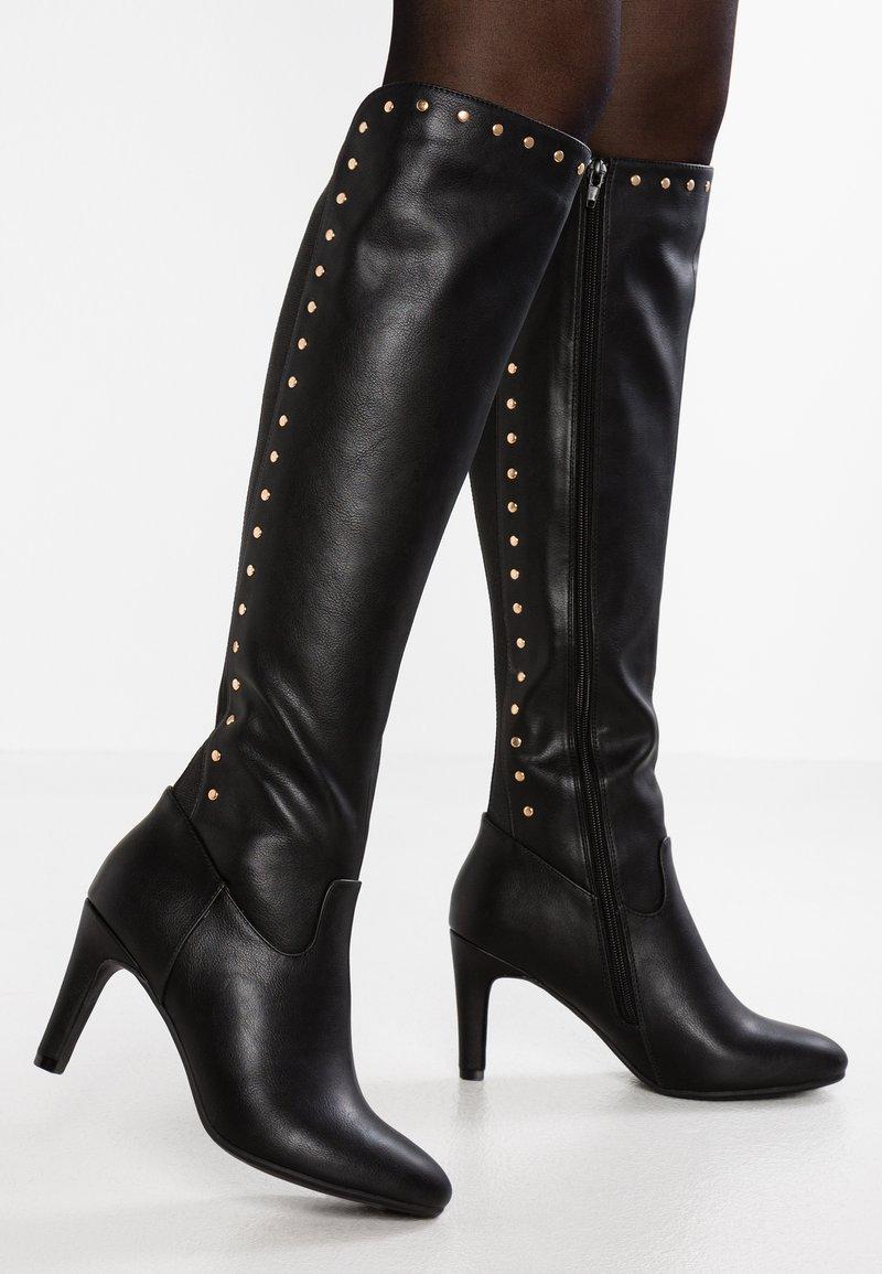 Anna Field - Højhælede støvler - black