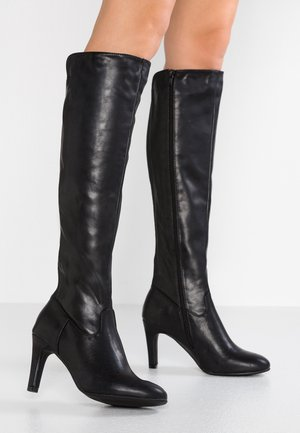 High Heel Stiefel - black
