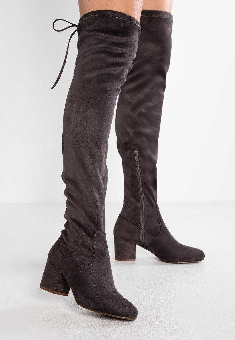 Anna Field - Over-the-knee boots - grey