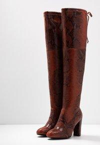 Anna Field - Boots med høye hæler - red - 4