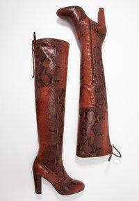 Anna Field - Boots med høye hæler - red - 3